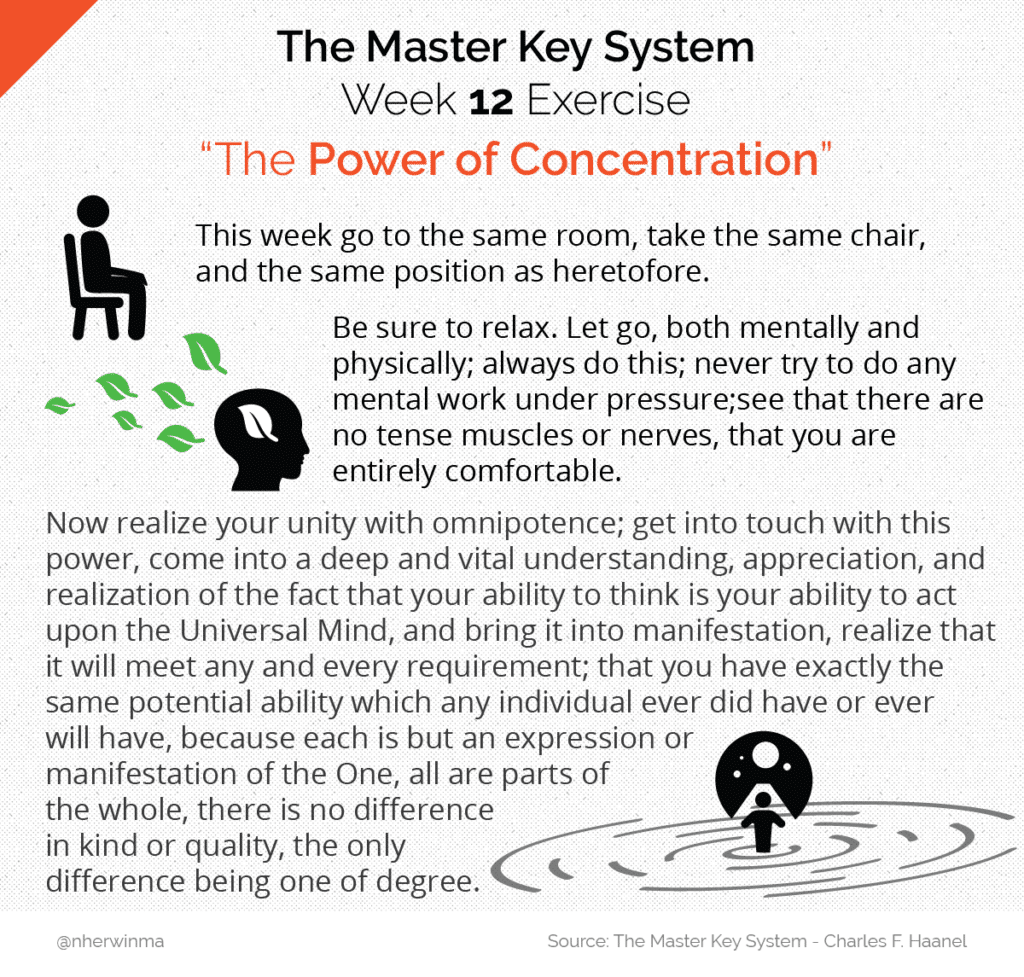 Master Key System exercise week 12